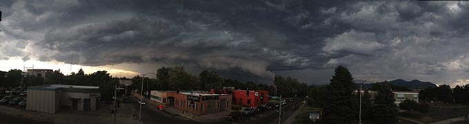Severe Summer Storm