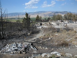 Pine Creek Fire, 2012