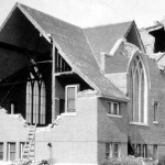 Three Forks Church, 1925 Earthquake