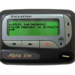 Sample pager