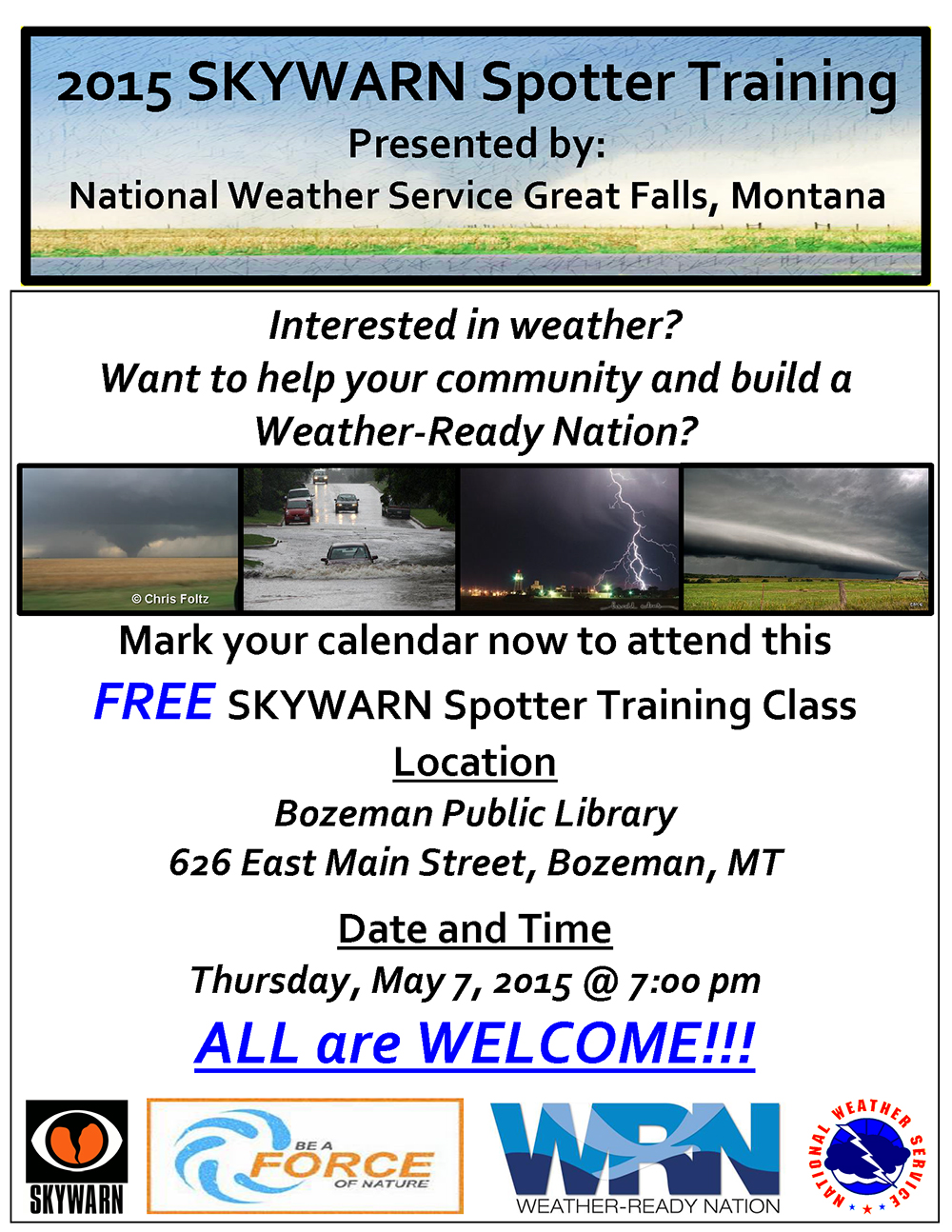 Gallatin-County-Spotter-Training-Flyer