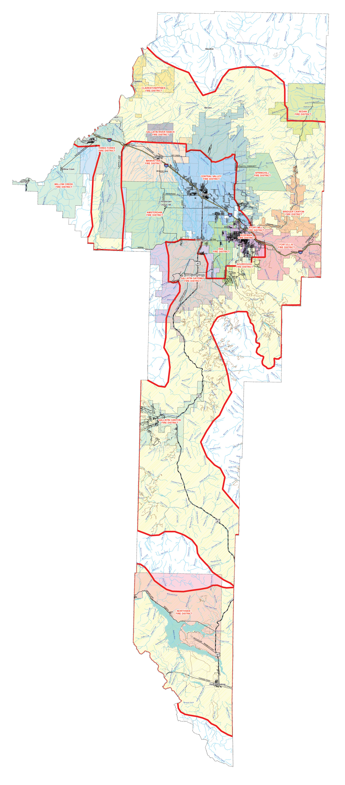 Montana Fire Map 2016.Wildfire In Gallatin County Gallatin County Emergency Management