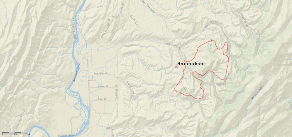 Horseshoe Fire Perimeter