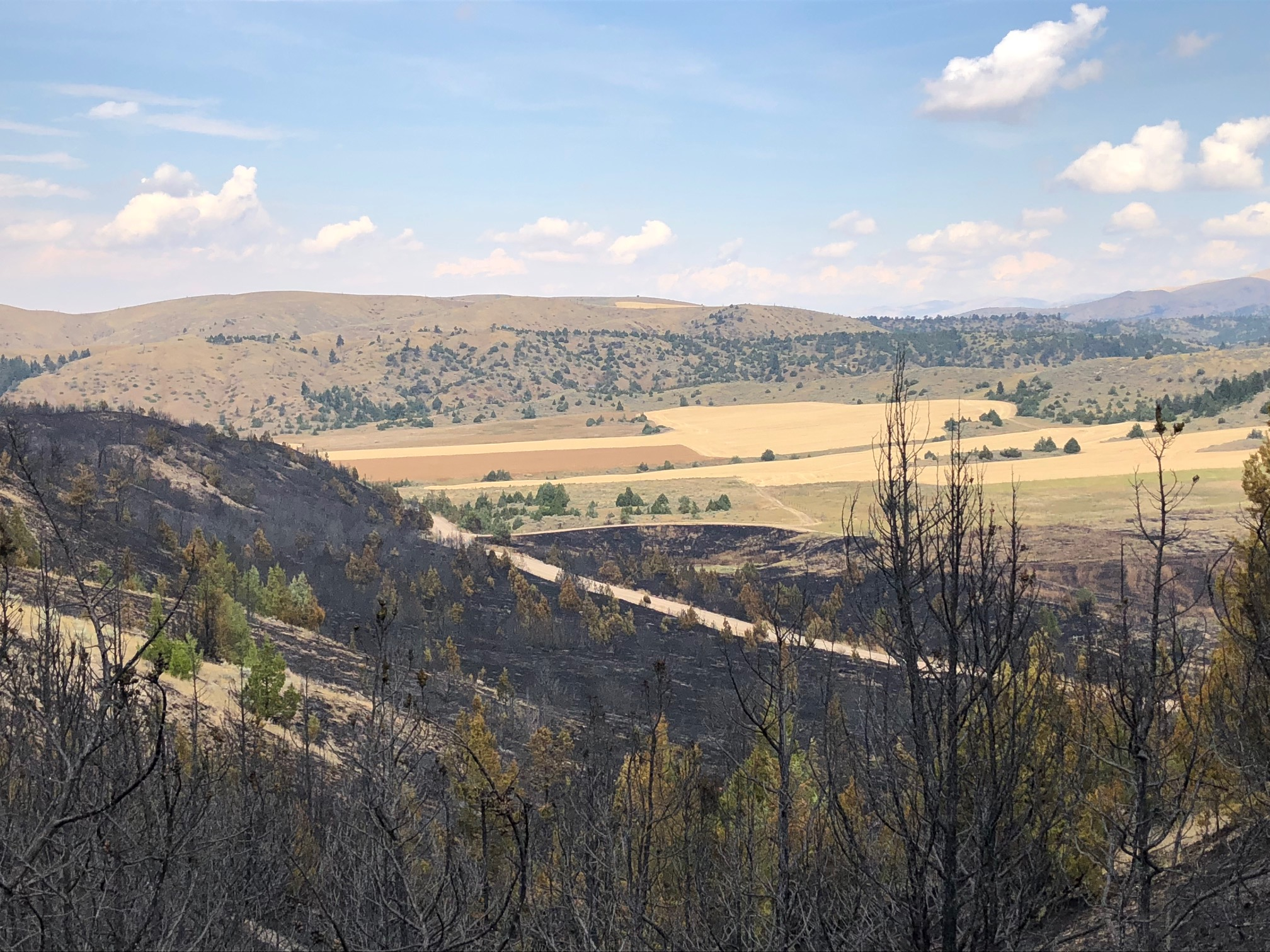 Horseshoe Fire Update 9:30 AM 9/14/18 – Gallatin County