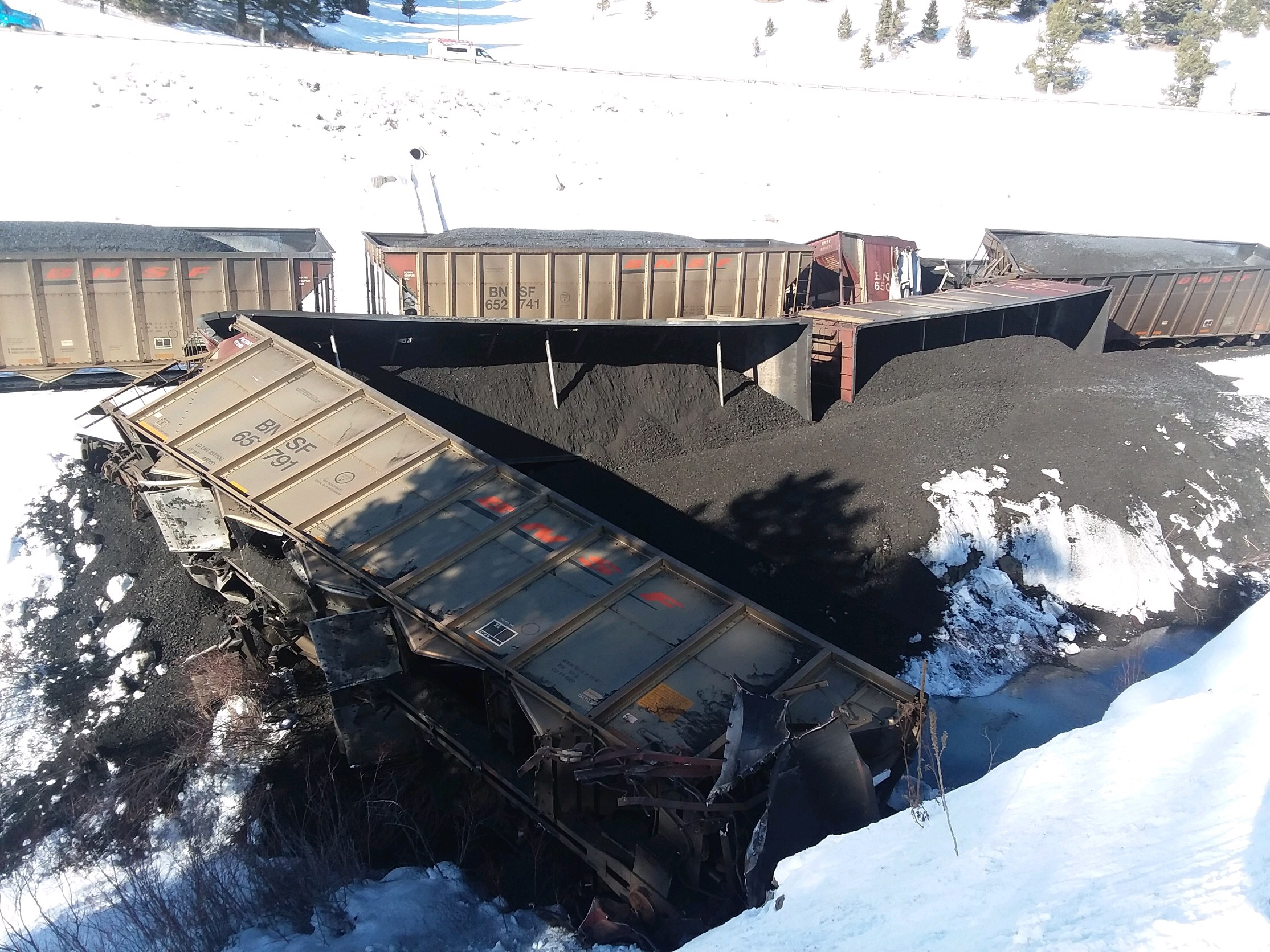 Trail Creek Train Derailment